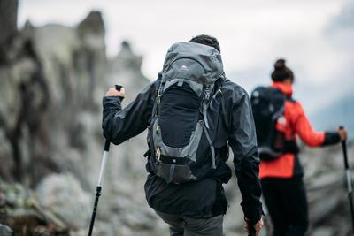 شنطة ظهر للمشي بالجبالMH500 سعة 20 لتر- أسود