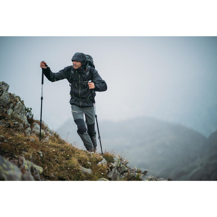 Wandelbroek voor bergtochten MH500 heren kaki