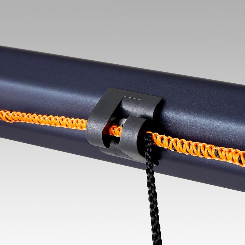 Arco de fútbol SG 500 talla L azul marino/naranja