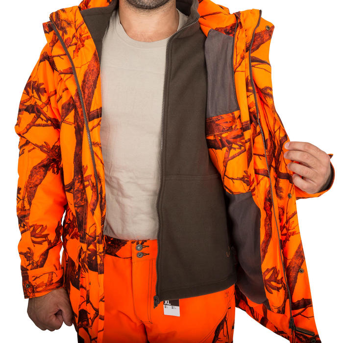 Veste chasse Sibir 300 CAMOFLUO - 161625