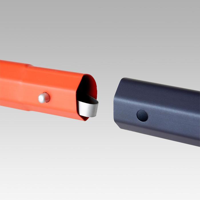 Voetbaldoel SG500 maat L marineblauw/oranje