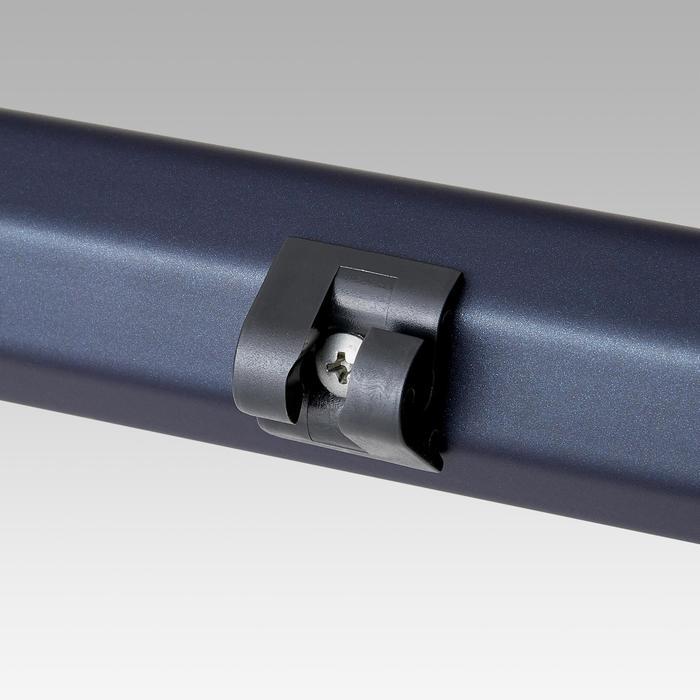 Portería de fútbol SG 500 talla L azul marino/naranja
