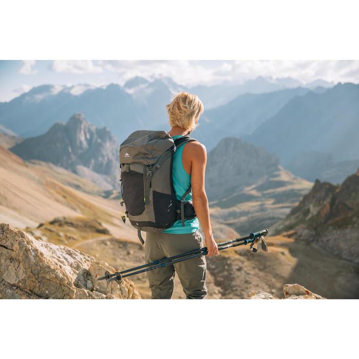 Mochila de Montaña y Trekking MH500 20 Litros Caqui