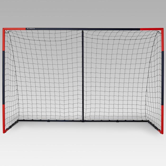 Voetbaldoel Classic Goal SG500 maat L (3 x 2 m) marineblauw/oranje