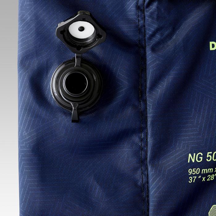 Portería de fútbol hinchable AIR KAGE Azul Amarillo