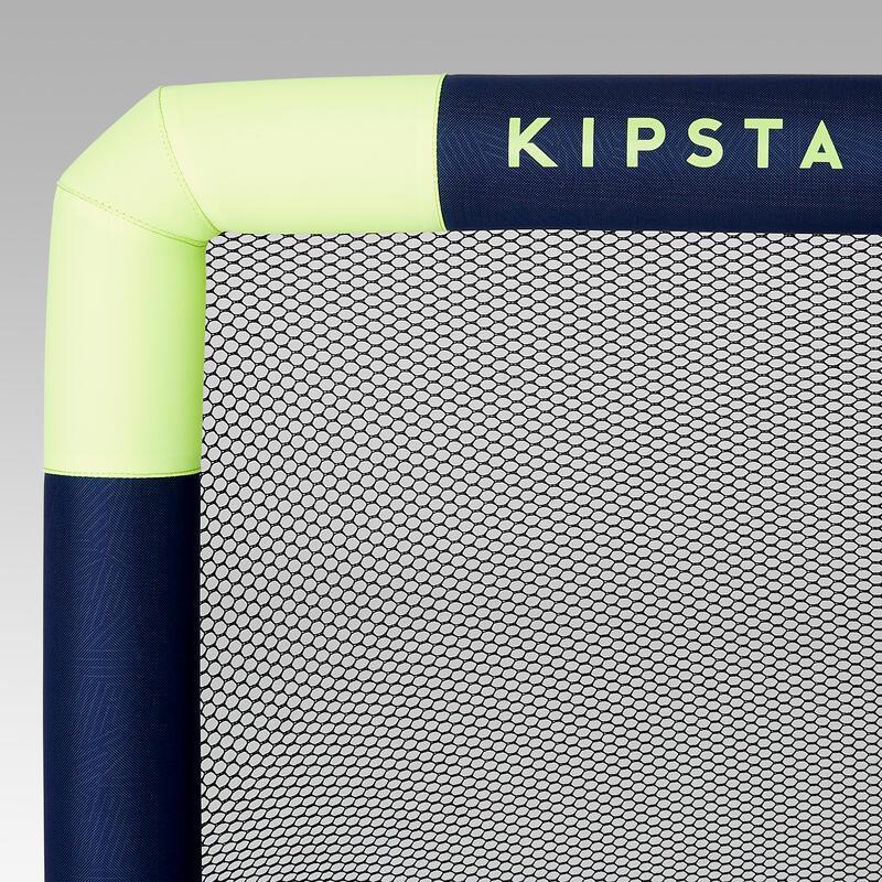 Arco de fútbol inflable Kipsta NG500S azul marino amarillo