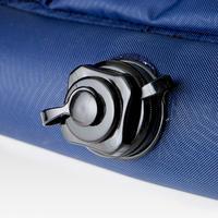 Portería de fútbol inflable AIR KAGE Azul Amarillo