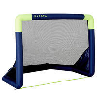 Air Kage Inflatable Soccer Goal Blue/Yellow