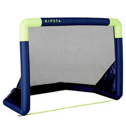 NG500S Inflatable Soccer Goal - Navy/Yellow