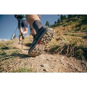 Men's Waterproof Mountain Walking Shoes - MH100 - Blue