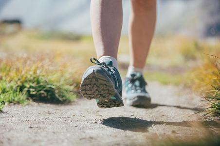 MH100 Sepatu Bot Mendaki Gunung Tahan Air Wanita - Toska