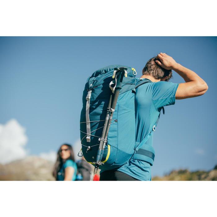 Mochila de Montaña y Senderismo Quechua MH100 40 Litros Azul