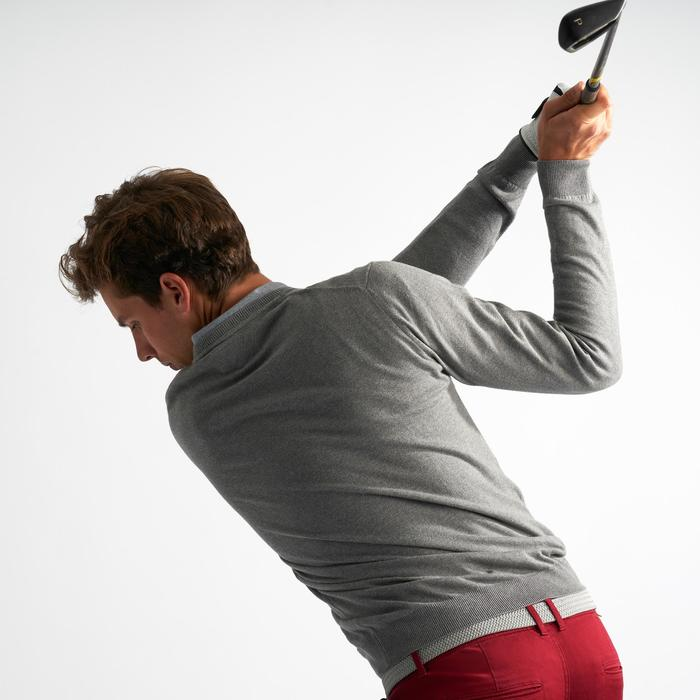 Golftrui voor heren grijs