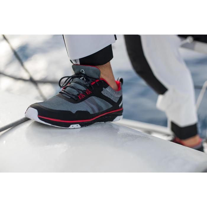 Segelschuhe Regatta Race Erwachsene schwarz/rot