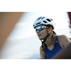 Fietshelm wielrennen Roadr 500 wit