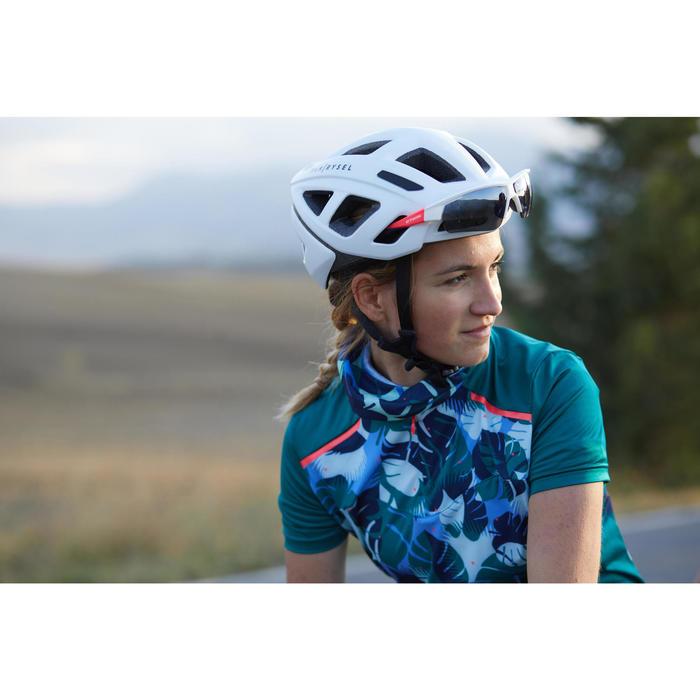 Nekwarmer fiets Roadr 100 blauw/groen
