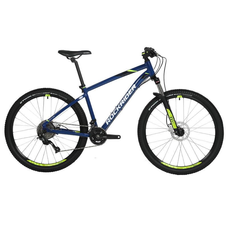 จักรยานเสือภูเขารุ่น Rockrider ST 540 (สีน้ำเงิน/เหลือง)