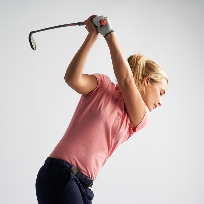 女款高爾夫POLO衫-淺粉色