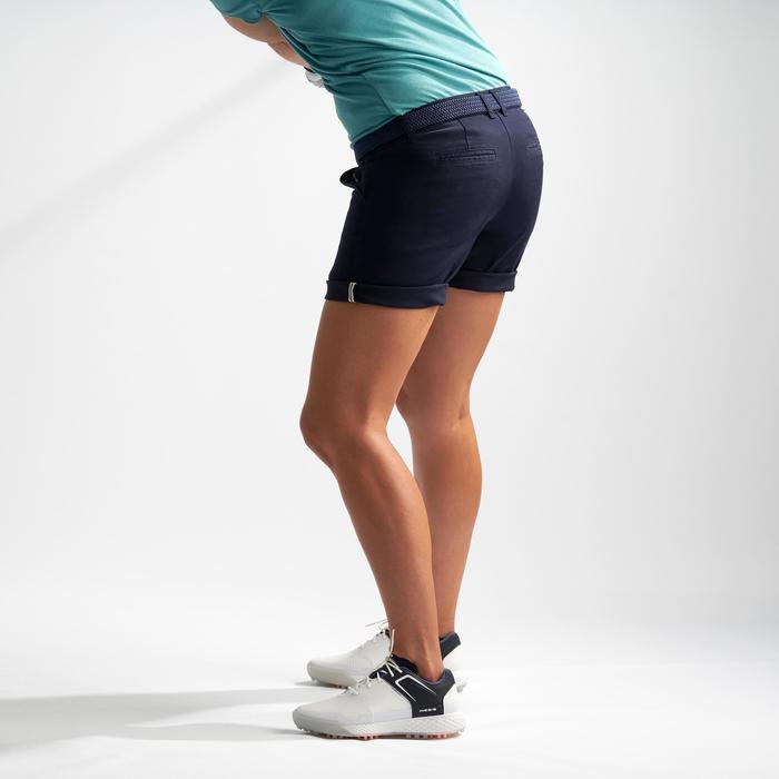 Golf Bermuda Shorts Damen marineblau