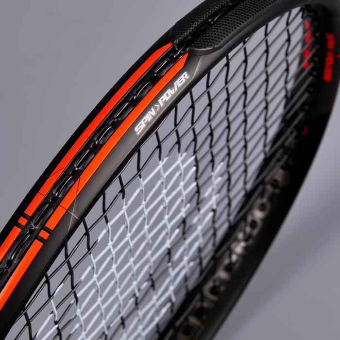 Tennisracket voor volwassenen TR990 Pro+ oranje en zwart