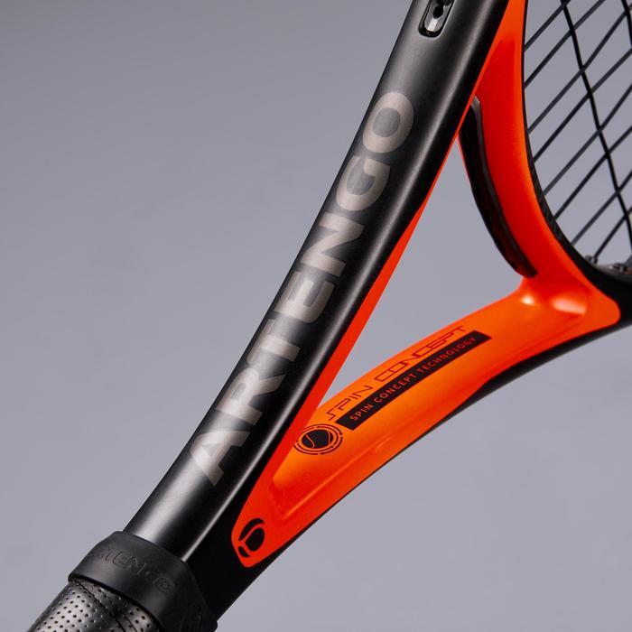 RAQUETTE DE TENNIS ADULTE TR990 PRO+ NOIR ROUGE