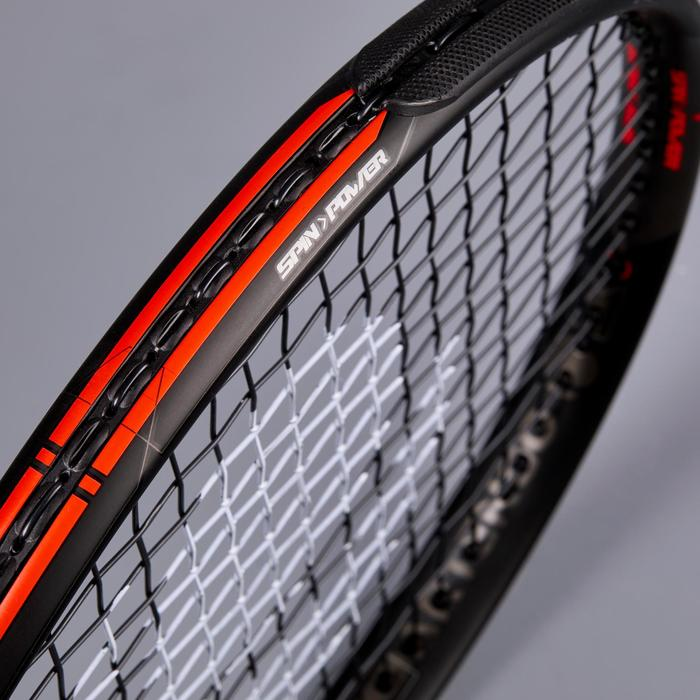 成人款網球拍 TR990 Pro - 黑色/橘色