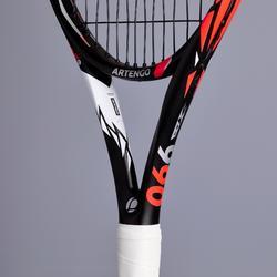 Tennisracket kinderen TR 990 26 zwart oranje