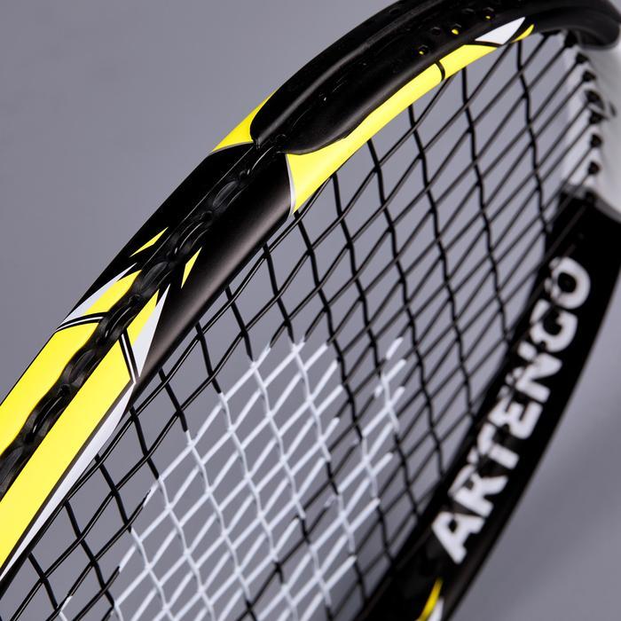 """Tennisschläger TR990 Kinder 25"""" besaitet schwarz/gelb"""