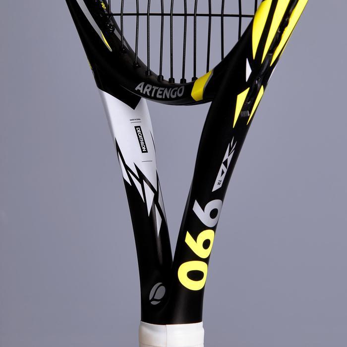 Tennisracket voor kinderen TR 990 25 zwart/geel