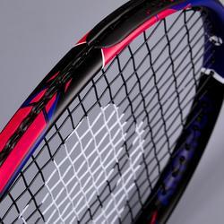 """Tennisschläger TR990 Kinder 26"""" besaitet schwarz/pink"""