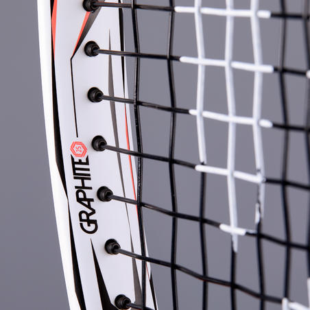 TR990 25 Girls' Tennis Racquet - White/Pink