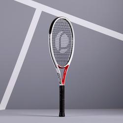 Tennisschläger TR960 Precision besaitet Erwachsene weiß/rot
