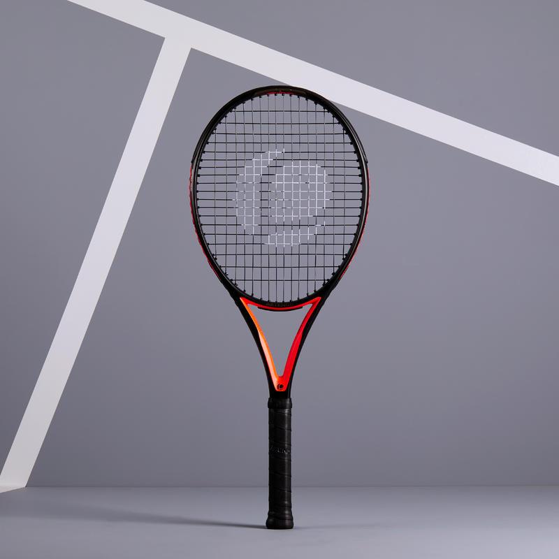 Raquette de Tennis Adulte TR900 - Noir / Orange - Grip 2