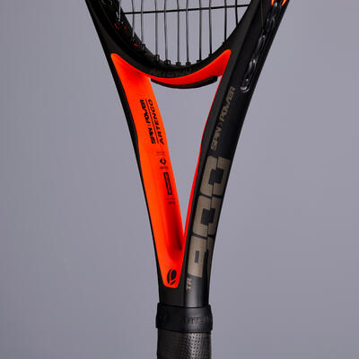 TR900 Adult Tennis Racket - Black / Orange