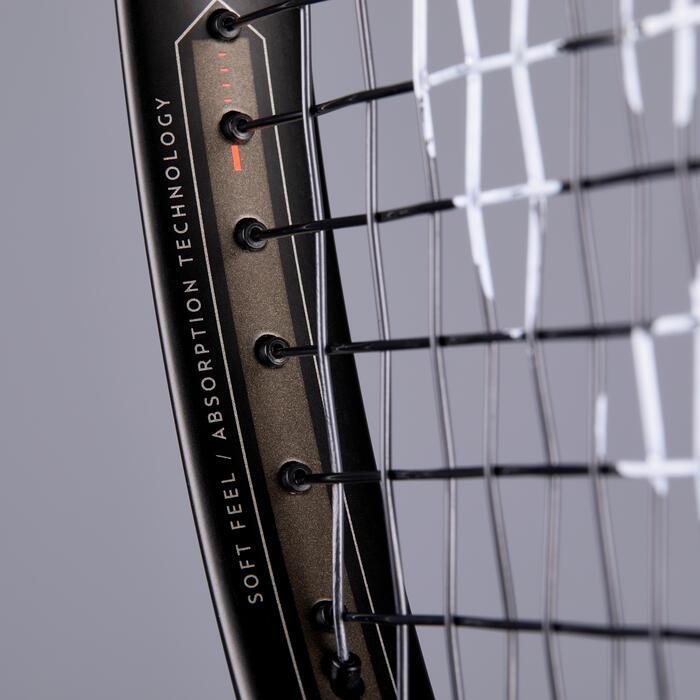 Tennisschläger TR900 Erwachsene schwarz/orange