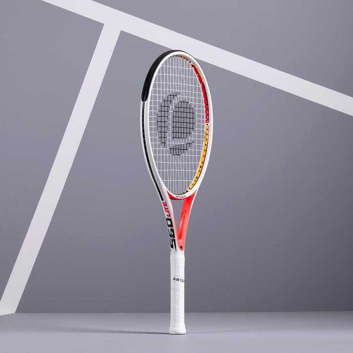 Tennisschläger TR560 Lite besaitet Erwachsene weiß