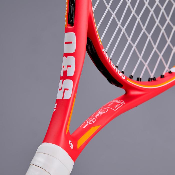 "Tennisschläger TR530 Kinder 23"" besaitet rosa/orange"