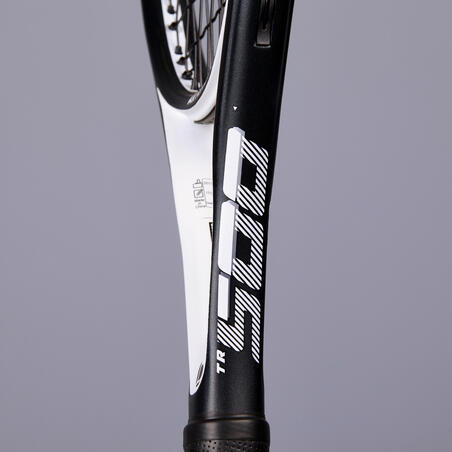 TR500 Oversize Adult Tennis Racket - Black/White