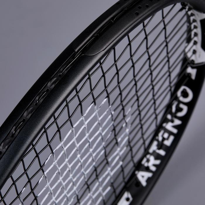 Tennisracket voor volwassenen TR500 oversized zwart wit