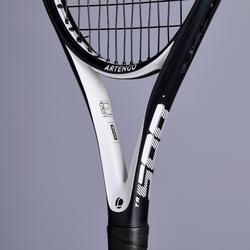 Tennisracket voor volwassenen TR560 oversized zwart wit