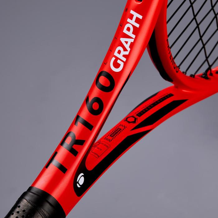 RAQUETTE DE TENNIS ADULTE TR160 GRAPH ORANGE