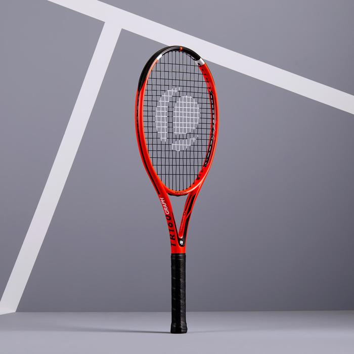 RAQUETTE DE TENNIS ADULTE TR160 GRAPH ORANGE