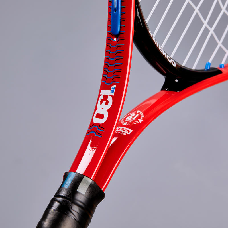 "Kids' 21"" Tennis Racket TR130 - Red"