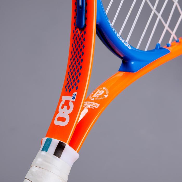 Tennisschläger TR130 19'' besaitet Kinder orange