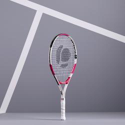 Tennisracket voor kinderen TR130 maat 23 roze