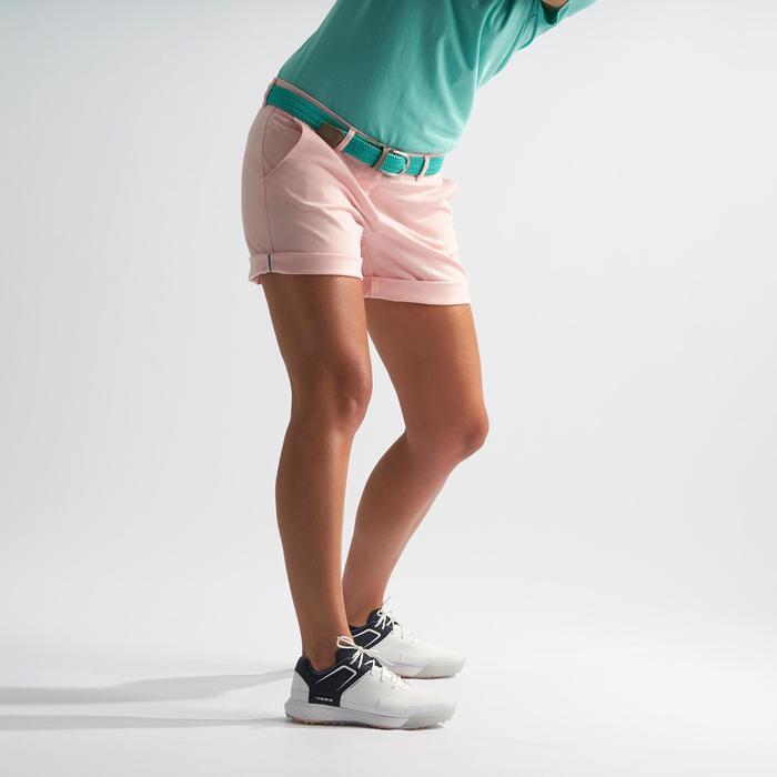 Golf Shorts Damen blassrosa