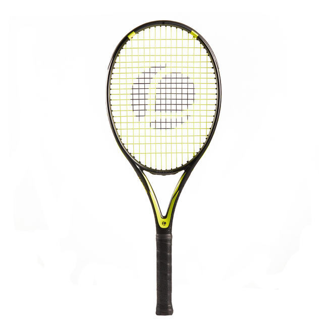 Tennis Racket Adult TR160 Graph - Black