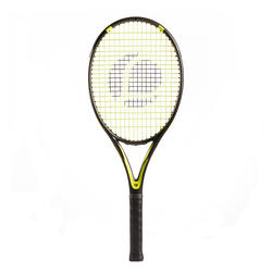 Tennis Racket Adult TR160 Graph - Black