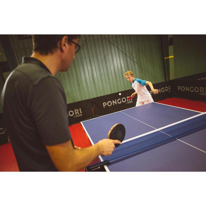雙乒乓球拍TTR 100 3* All-Round和3顆乒乓球TTB 100* 40+-橘色