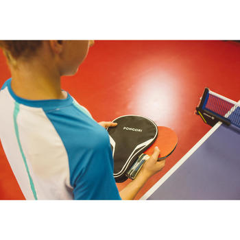 TTC 100 Table Tennis Bat Cover - Black